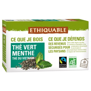 the vert menthe bio