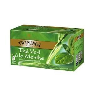 the vert ou the a la menthe