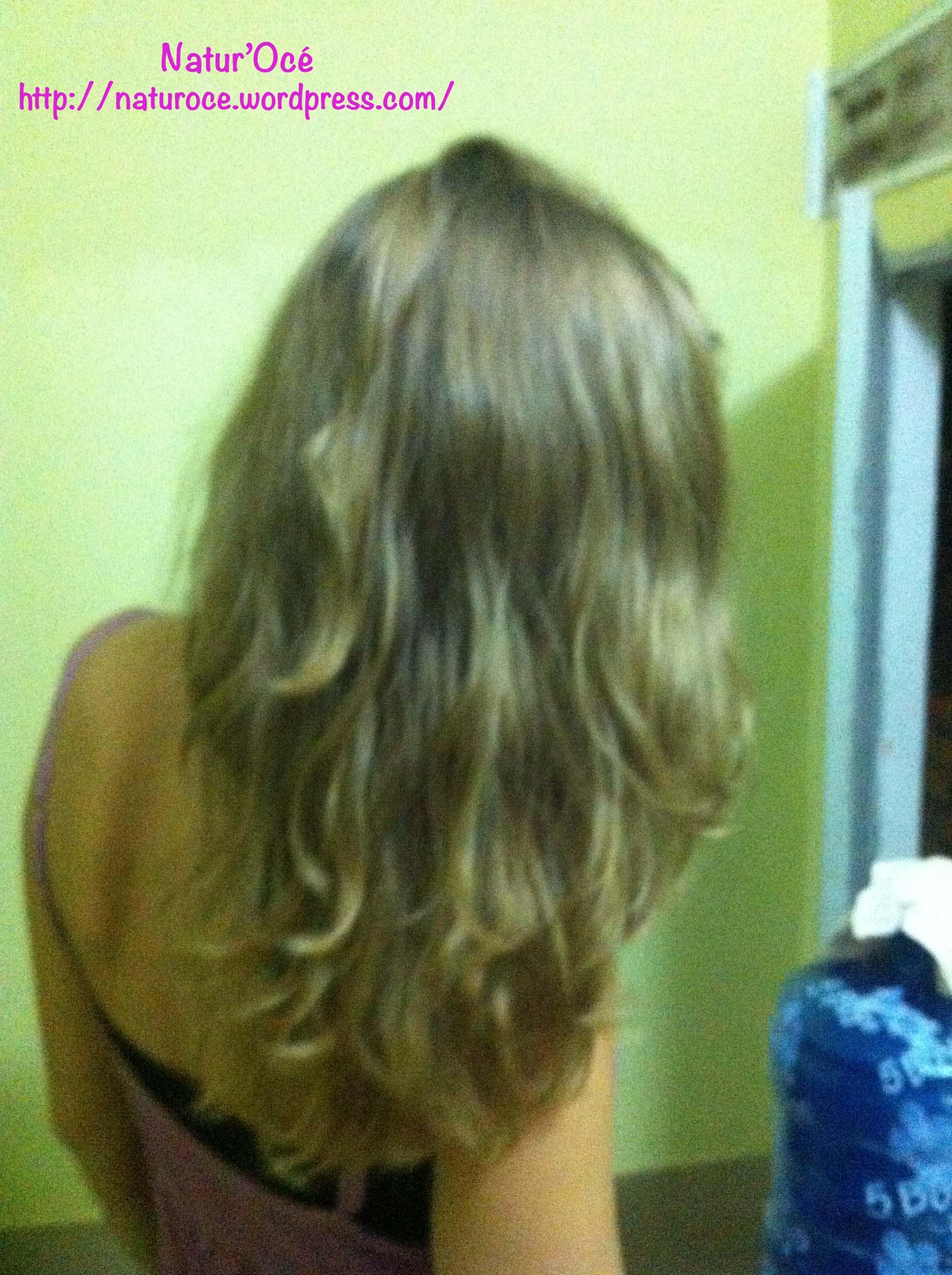 the vert pour les cheveux