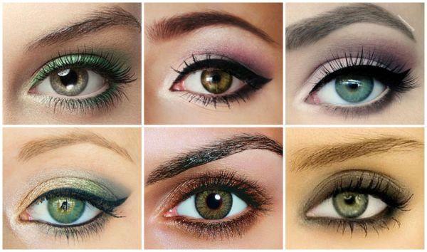 the vert pour les yeux