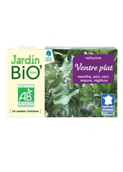 the vert ventre plat