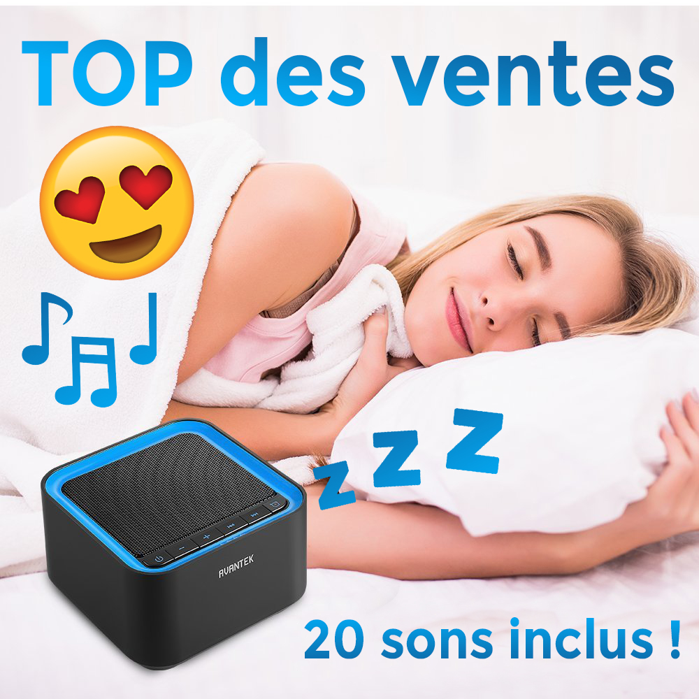 the blanc empeche de dormir