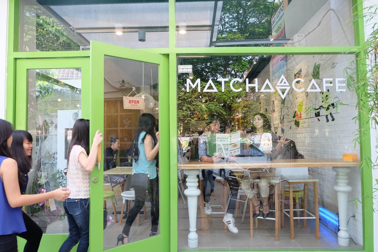 the matcha cafe surabaya