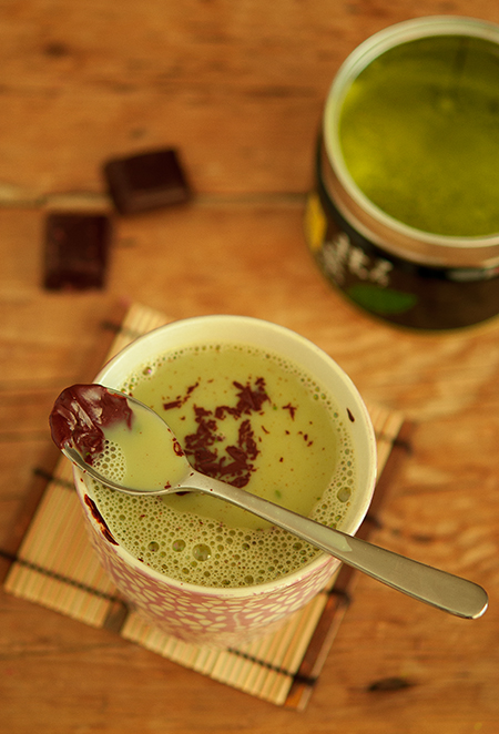 the matcha chocolat