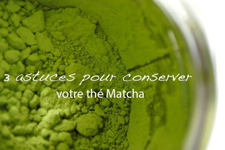 the matcha conservation