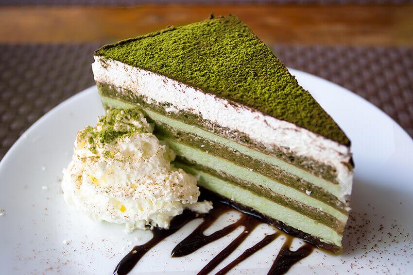 the matcha dessert