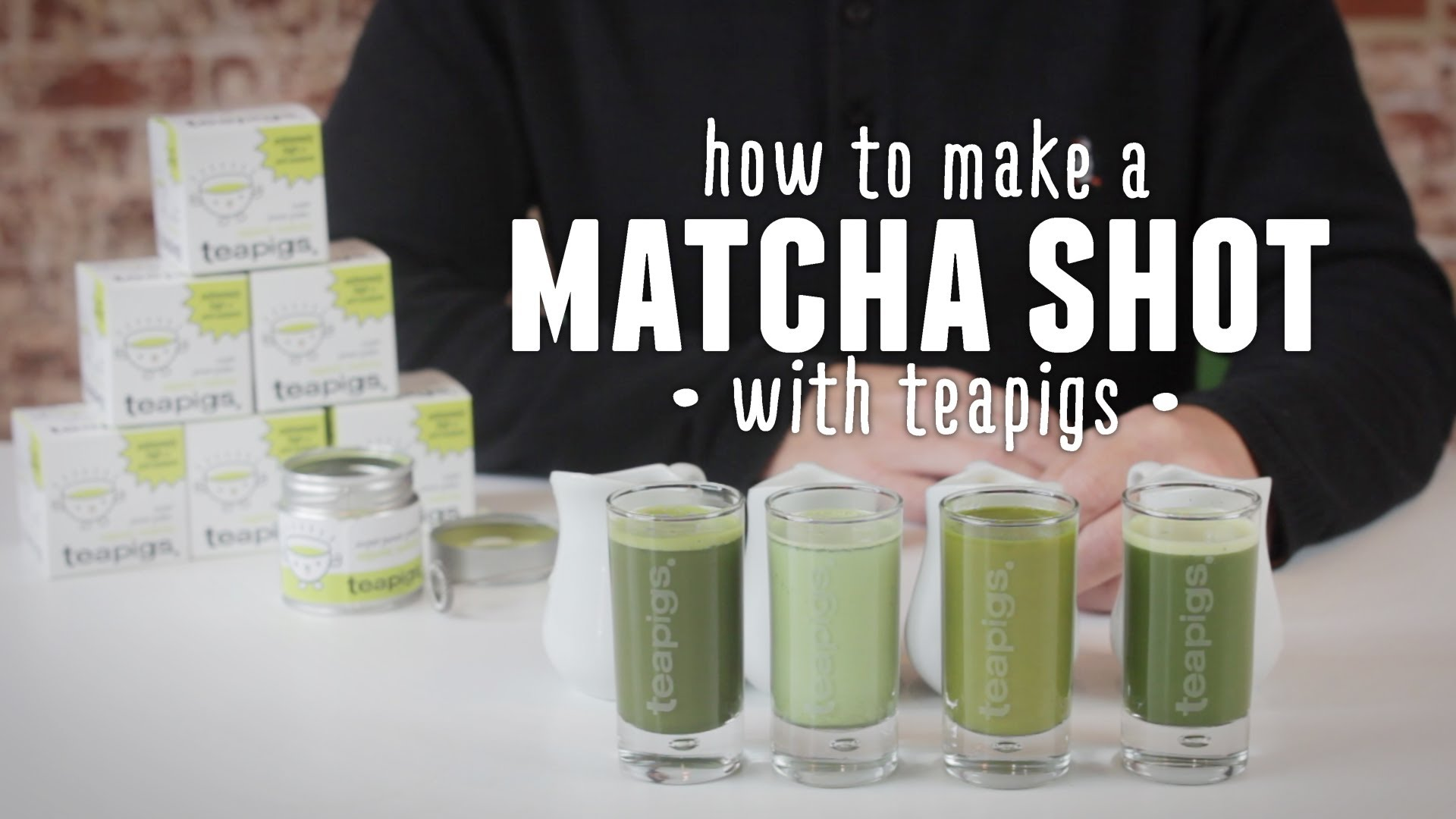 the matcha shot