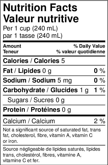 the matcha valeur nutritive
