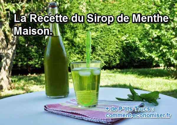 the menthe maison recette