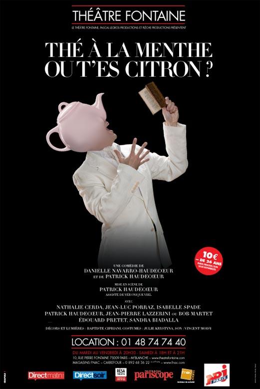the menthe ou t'es citron theatre fontaine