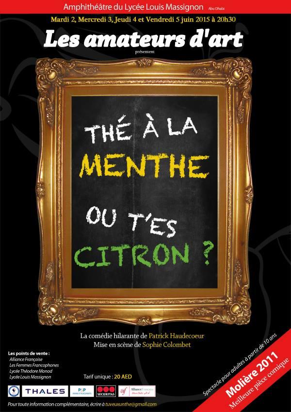 the menthe ou t'es citron