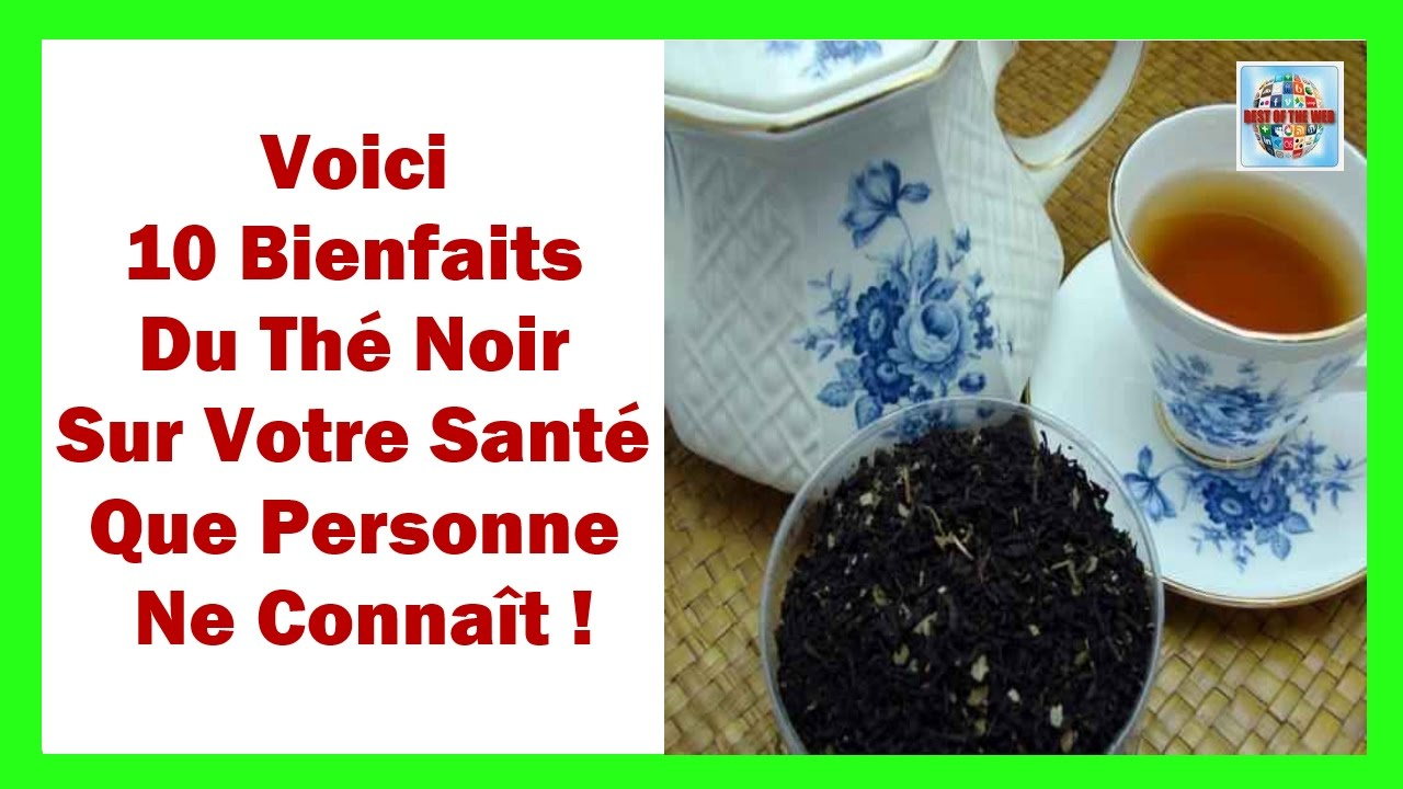 the noir les bienfaits