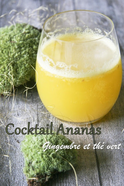 the vert a l'ananas