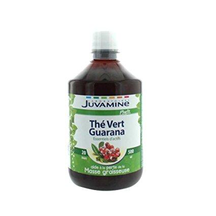 the vert guarana juvamine avis