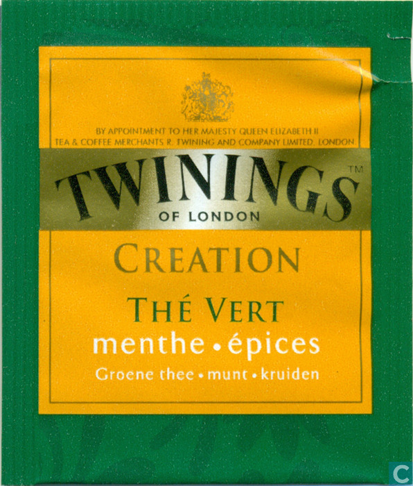 the vert menthe epices twinings