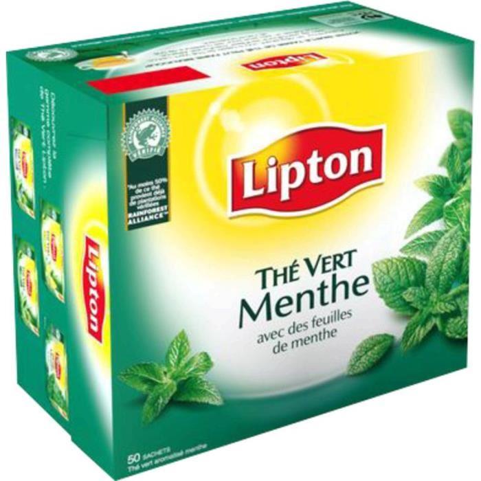 the vert menthe lipton